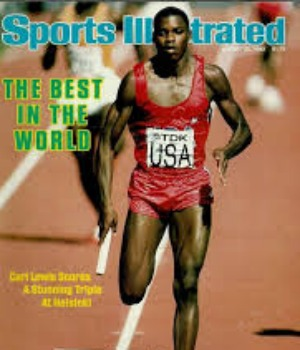 carl lewis best in the world 300+350
