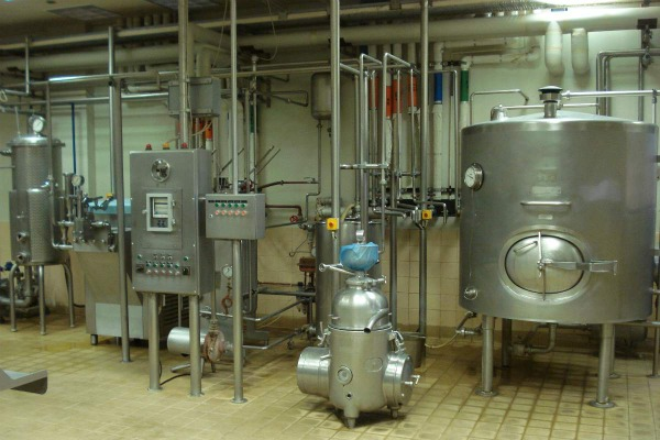 Milk pasturization 600+400