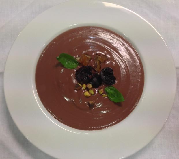 Gazpacho de cerezas 620+550