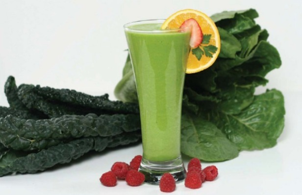green-smoothie con ingredientes 620+400