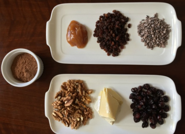 chocolate frutos bosque ingredientes  620+450