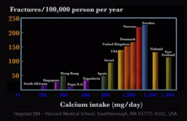 fractura de caderas contra consumo calcio 620+400